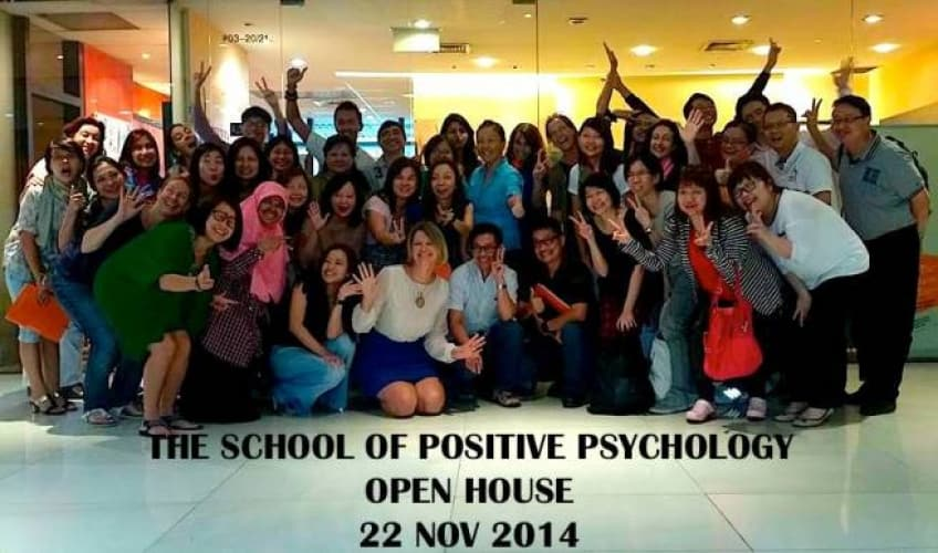 The School of Positive Psychology Open House 22 Nov 2014