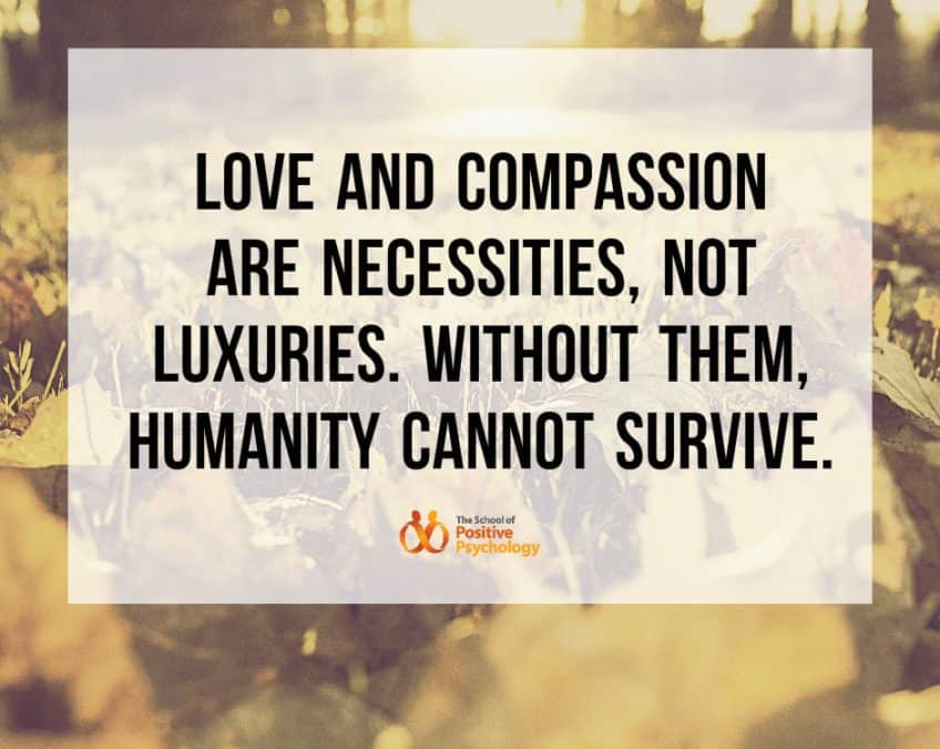 COMPASSION IS A NECESSITY