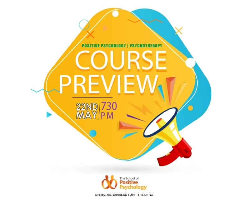 Course Preview (Positive Psychology & Psychotherapy)