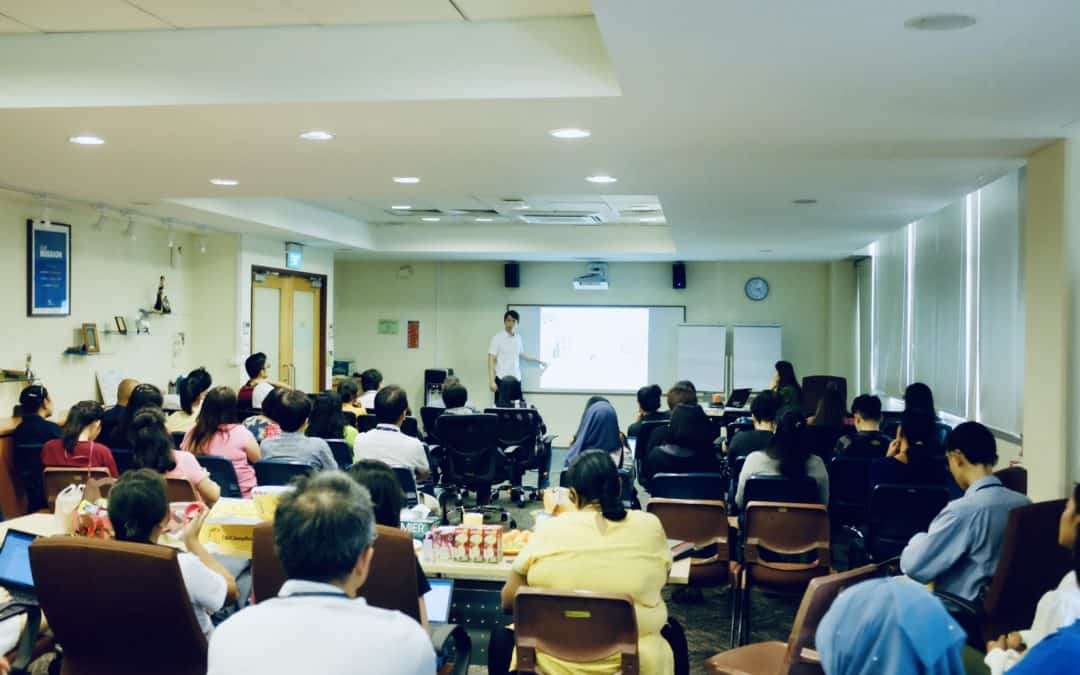 Positive Psychology Corporate Training @ Singapore Girls' Home