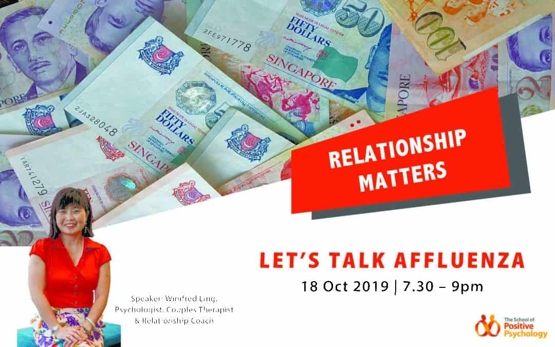 Relationship Matters – Let's Talk Affluenza