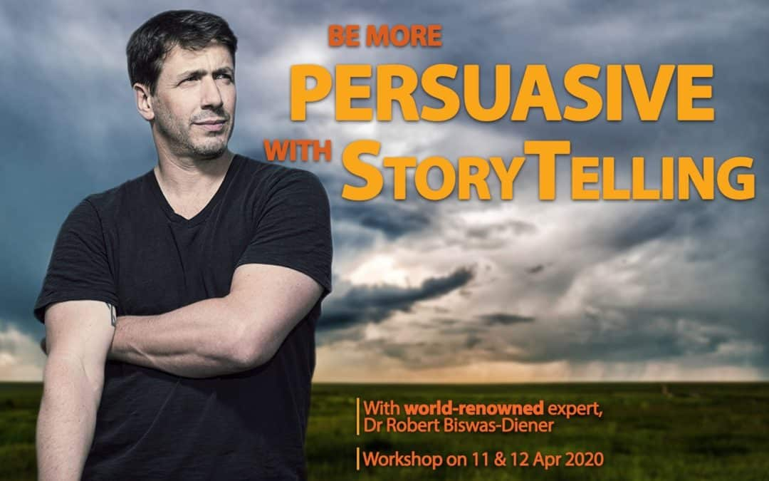 Learn to be more persuasive with better storytelling!