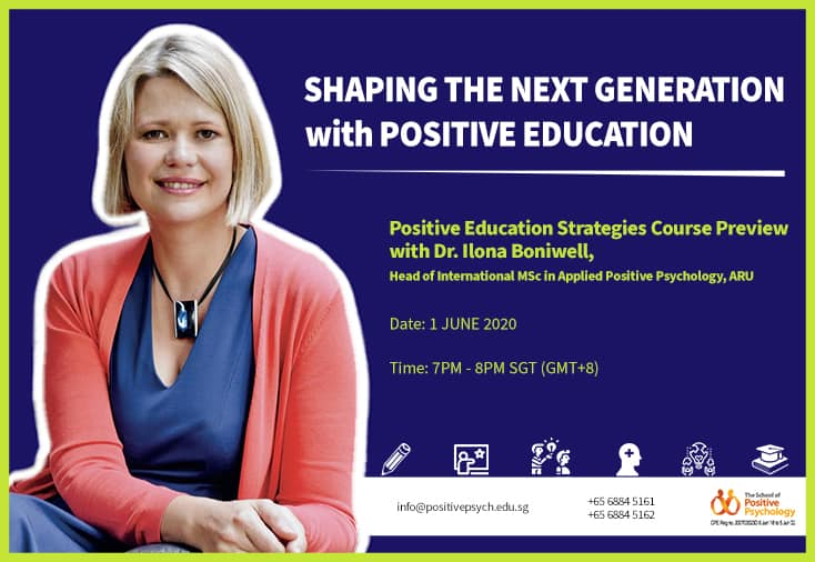 Shaping our next generation with Positive Education