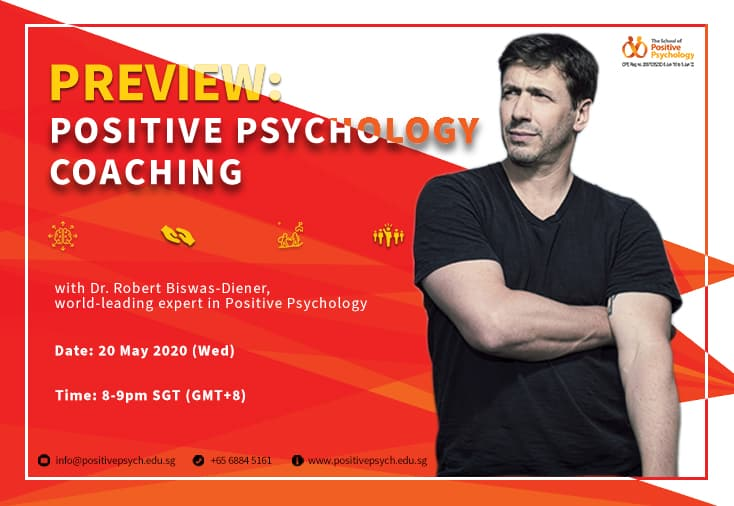 Preview: Positive Psychology Coaching by Dr Robert Biswas-Diener