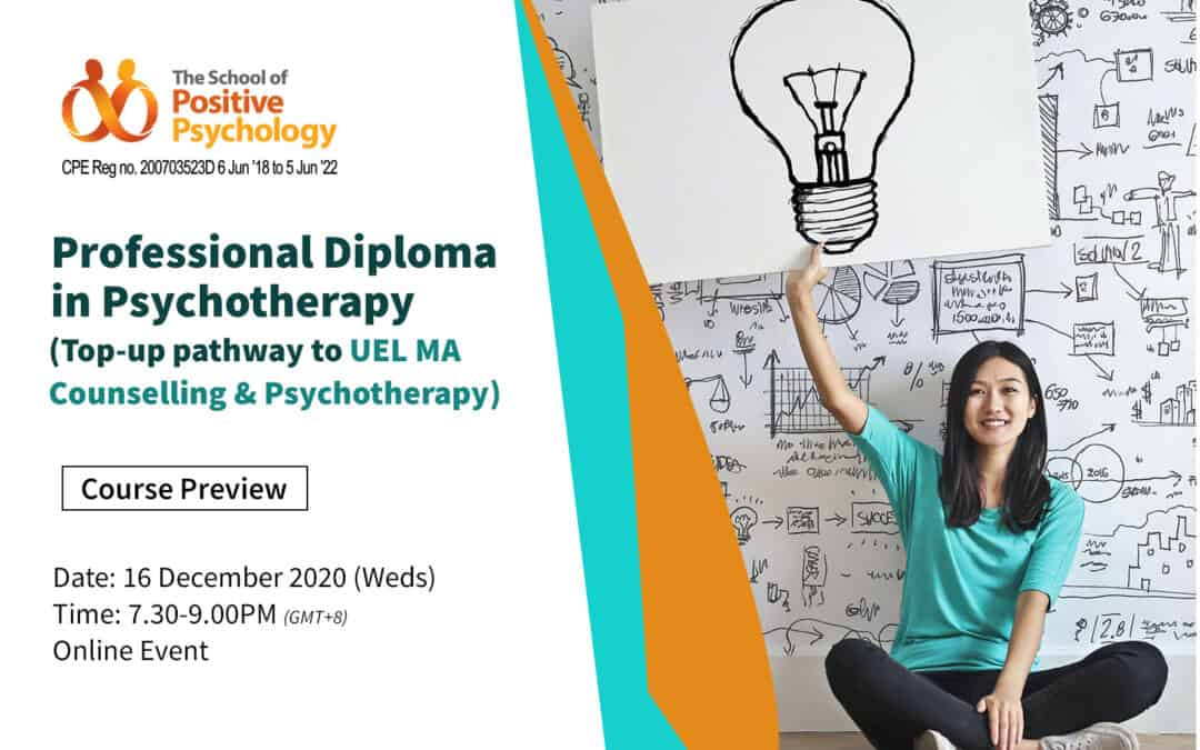 Professional Diploma in Psychotherapy (top-up pathway to UEL MA Counselling and Psychotherapy final year) course preview
