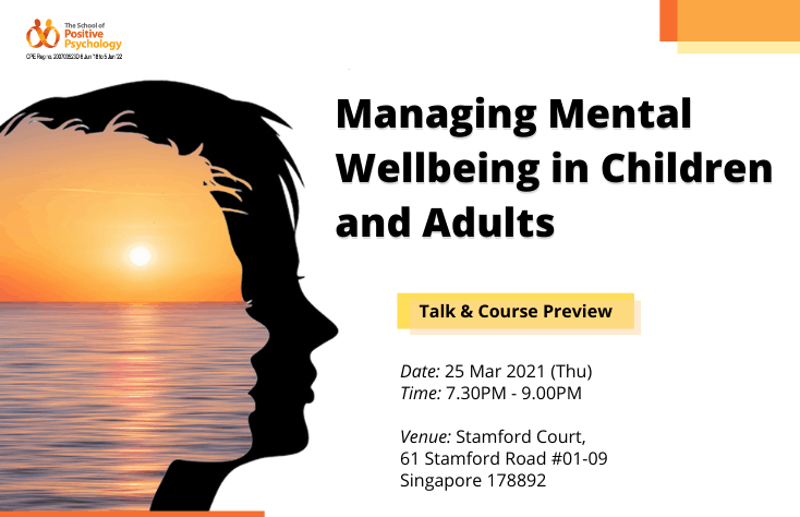 Talk + Preview: Managing Mental Wellbeing in Children and Adults