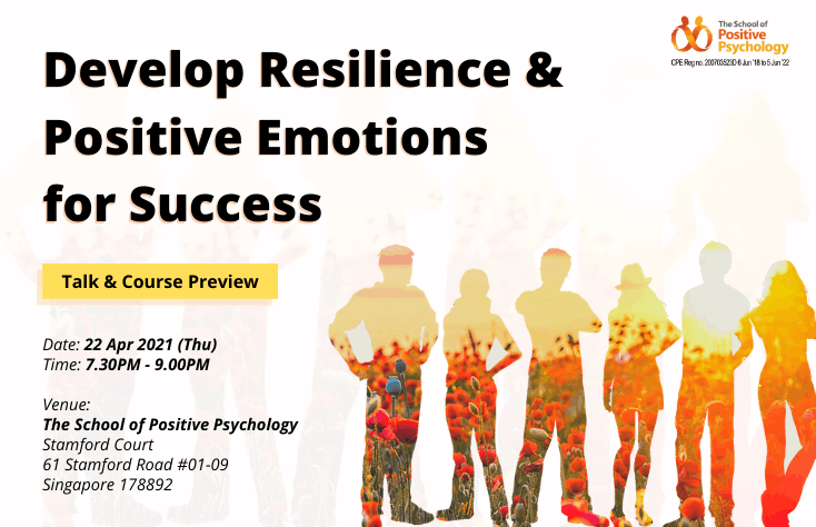 Talk + Preview: Develop Resilience & Positive Emotions for Success