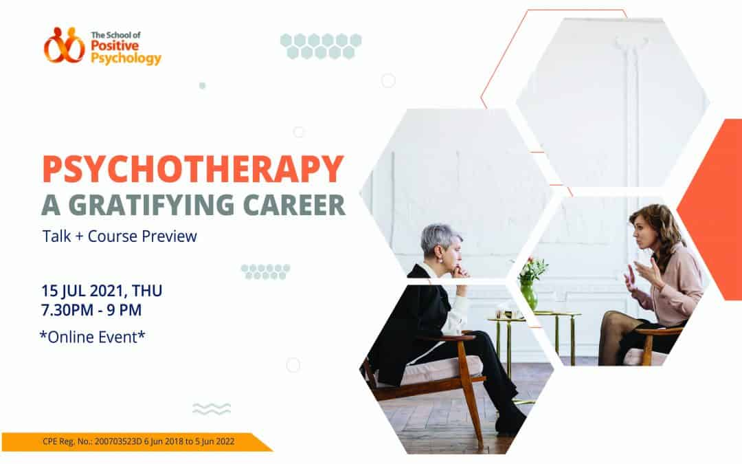 Psychotherapy – a gratifying career in mental health